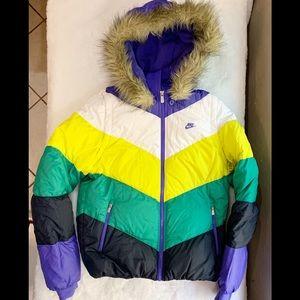Nike Windrunner Down Fill Hooded Puffer Jacket